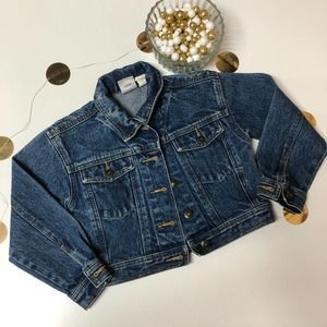 Vintage Disney Mickey Denim Little Kids Jacket